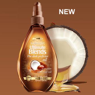 FREE Garnier Ultimate Blends Sleek Perfector Oil - Gratisfaction UK Freebies #garnier #freestuff