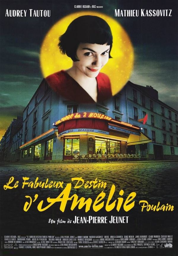 Amélie (2001)  Must be one of the sweetest films ever, plus the beautiful, the romantic Paris in background..