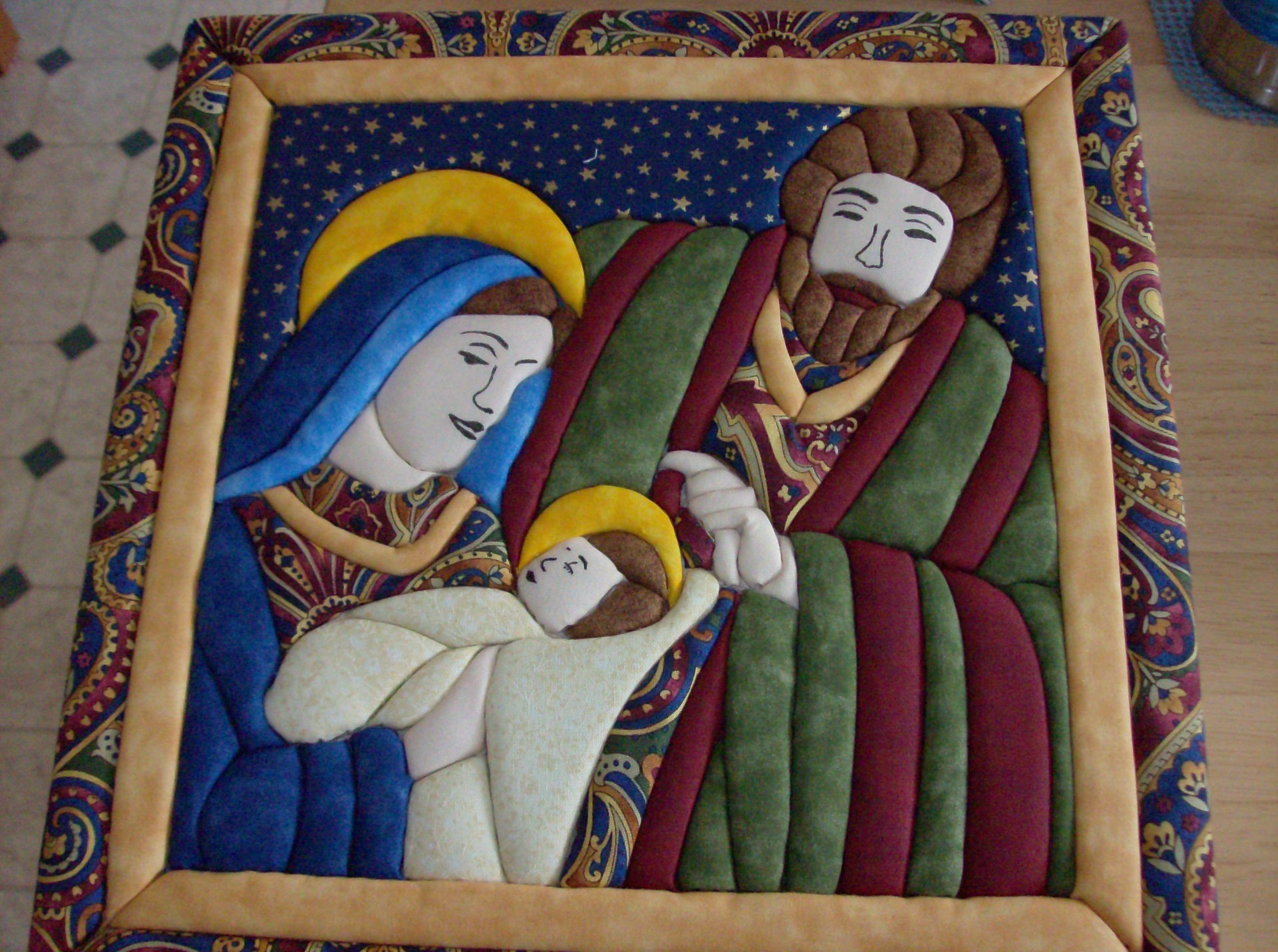 Magic Quilt Nativity