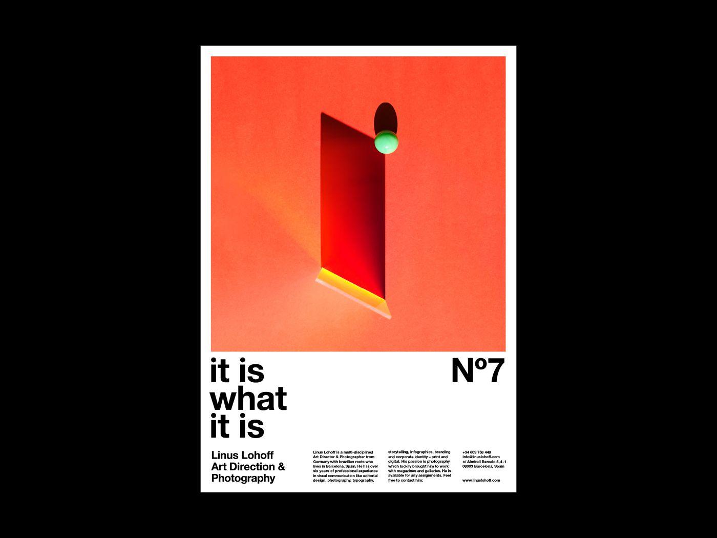 It is what it is 抽象攝影的系列海報 | MyDesy 淘靈感