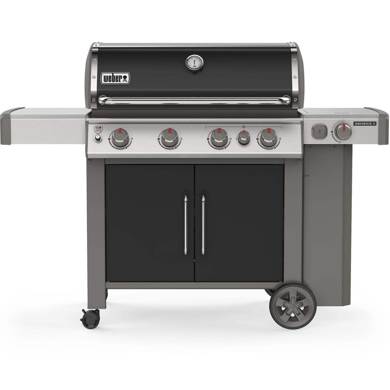 Weber Genesis Ii E 435 Propane Gas Grill Black 62016001 Propane Gas Grill Grilling Gas Bbq