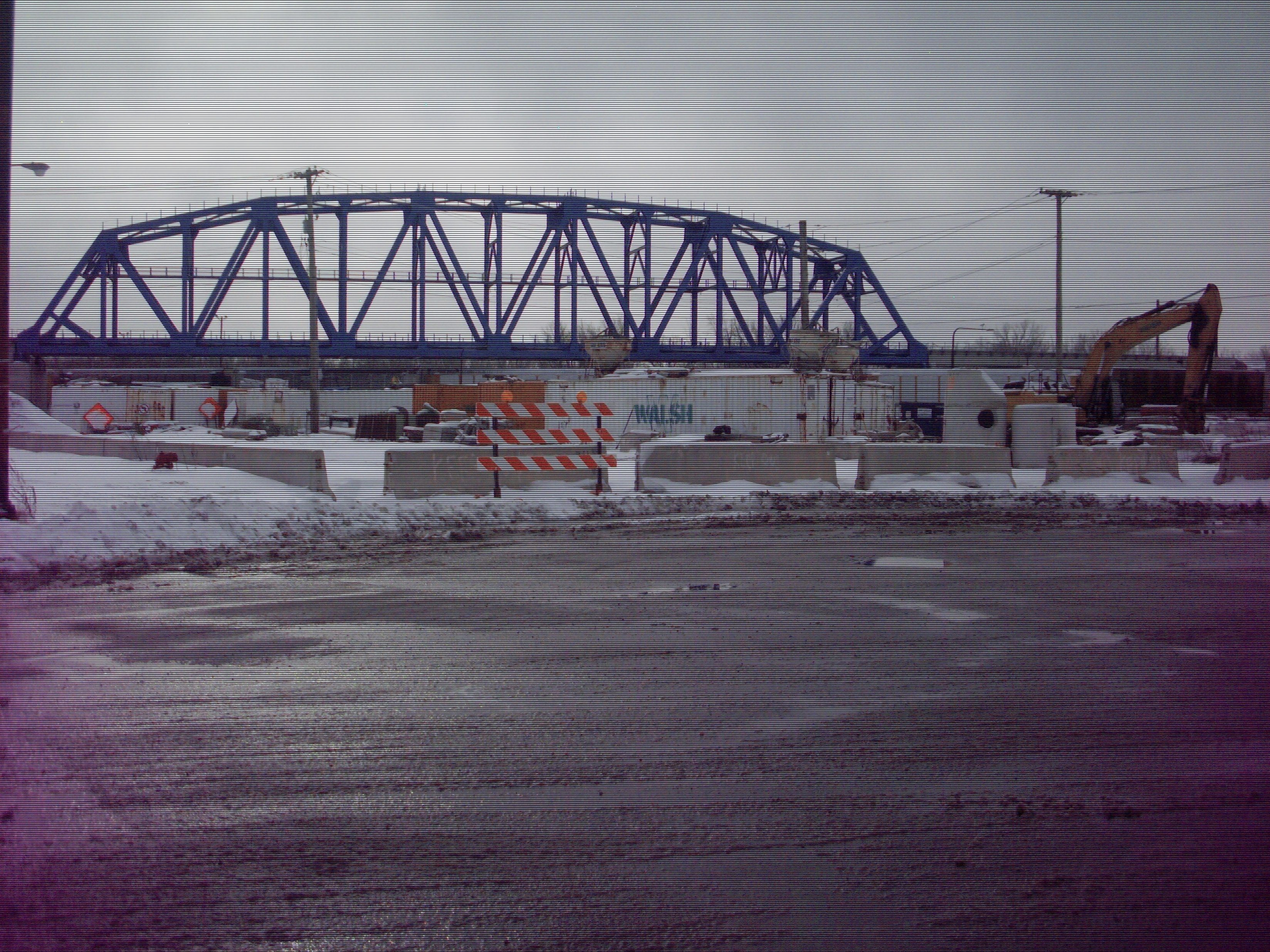 The Walsh Torrence Bridge project is underway for the Chicago South Shore and South Bend commuter rail line. #InvestinUS