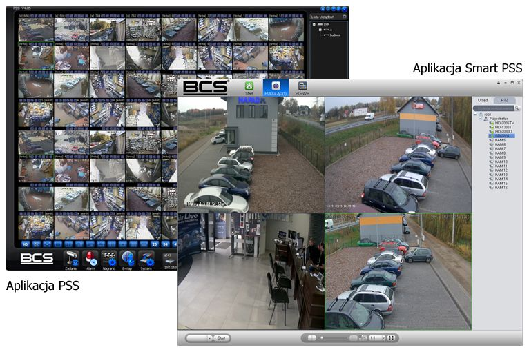 Najważniejsze grupy asortymentowe to: - telewizja przemysłowa,  - monitoring wizyjny, - monitoring wizyjny IP, - akcesoria LAN, WLAN - systemy alarmowe, - systemy kontroli dostępu, - systemy rejestracji czasu pracy, - domofony,  - wideodomofony.