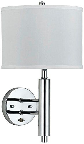 Cal Lighting La 2004wl 1rch Metal Wall Lamp With On Off Push Switch