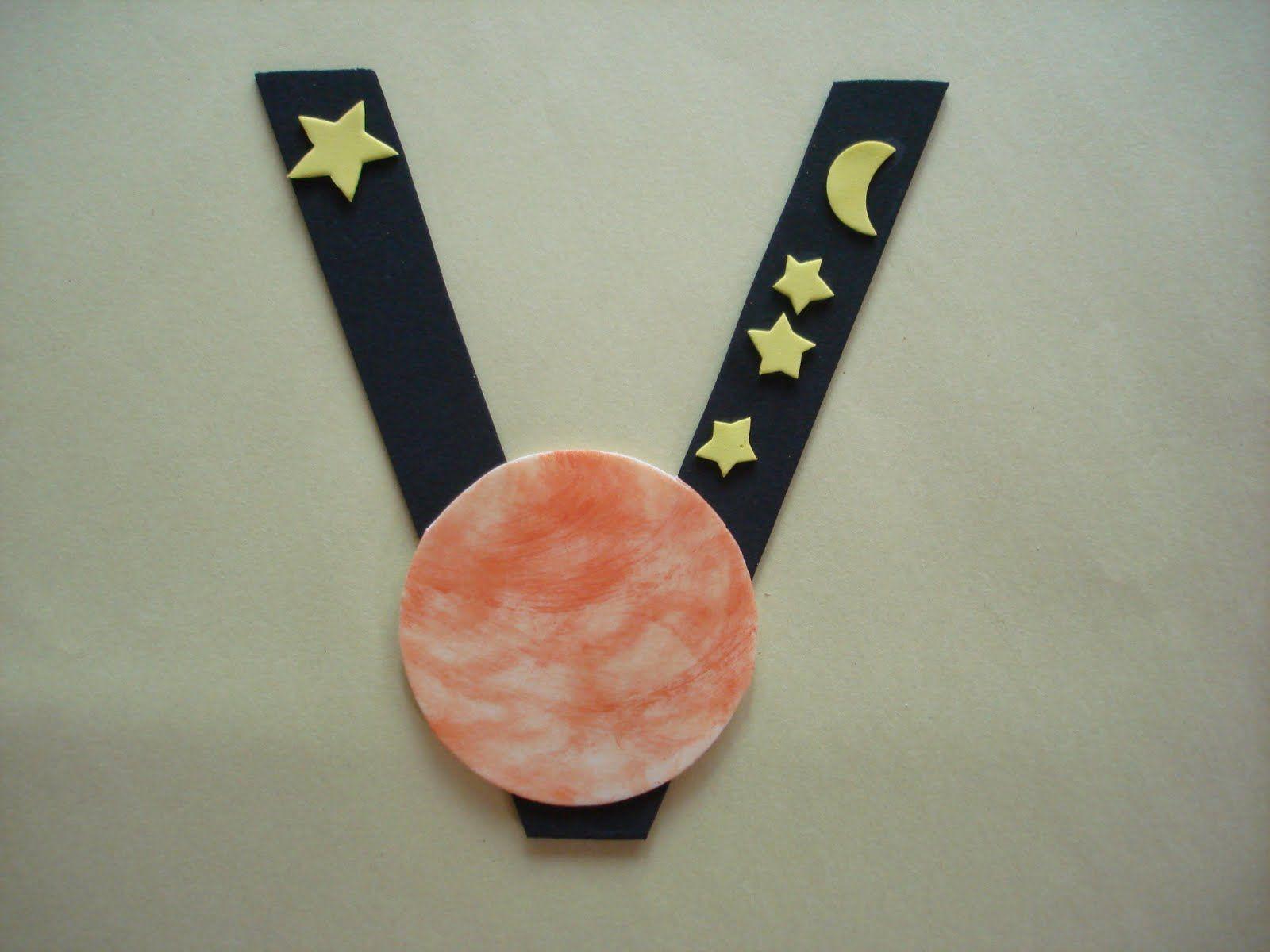 Letter V Preschool Craft