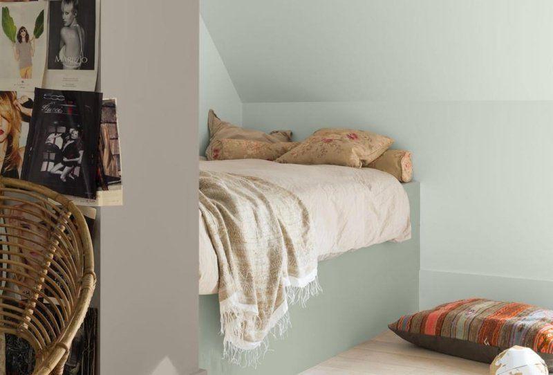 Couleur peinture chambre à coucher – 30 idées inspirantes | chambre ...