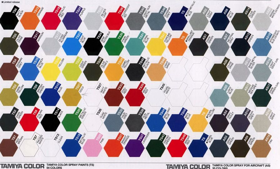 Image Result For Tamiya Color Enamel Paint Matte Colour Chart