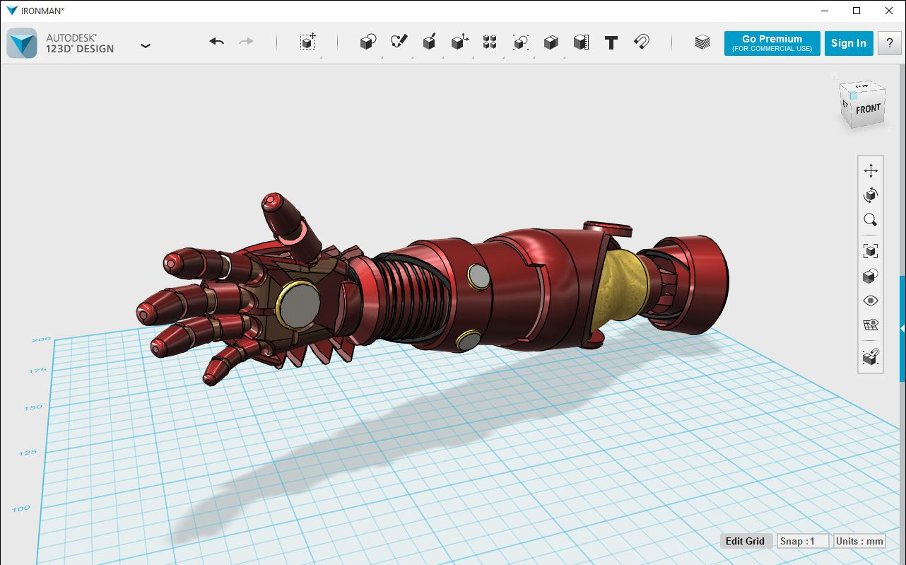 123d design is a free powerful yet simple 3d modeling Easy 3d modeling software