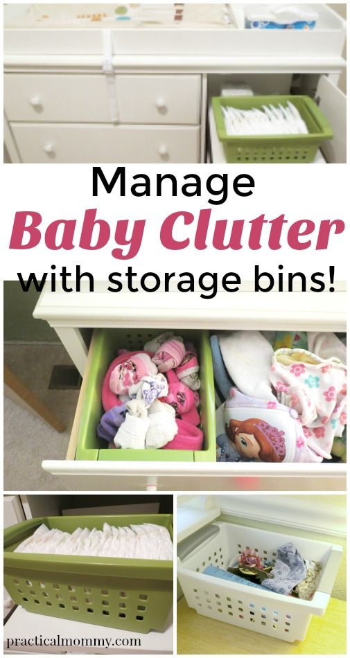 Managing Baby Clutter And Storage Bins Nursery Organization Hacks Kids