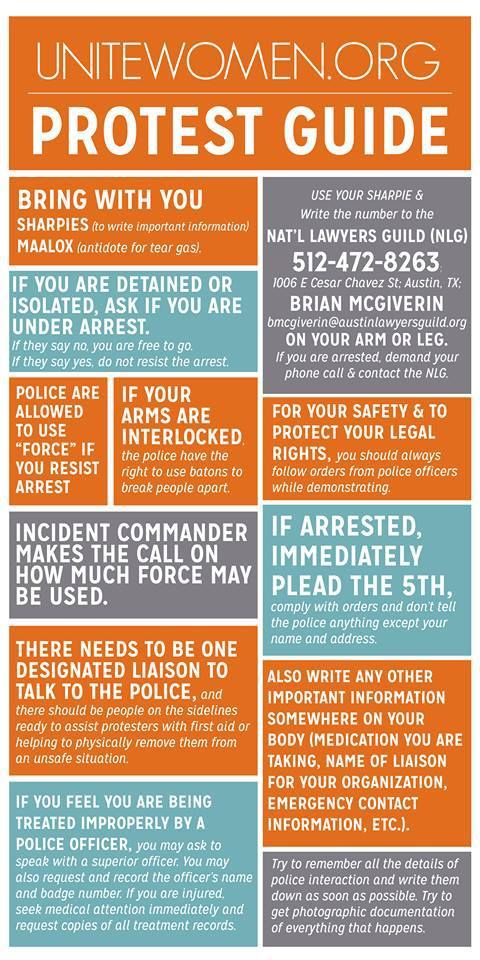 What To Do If You Get Arrested While Protesting Excellent And