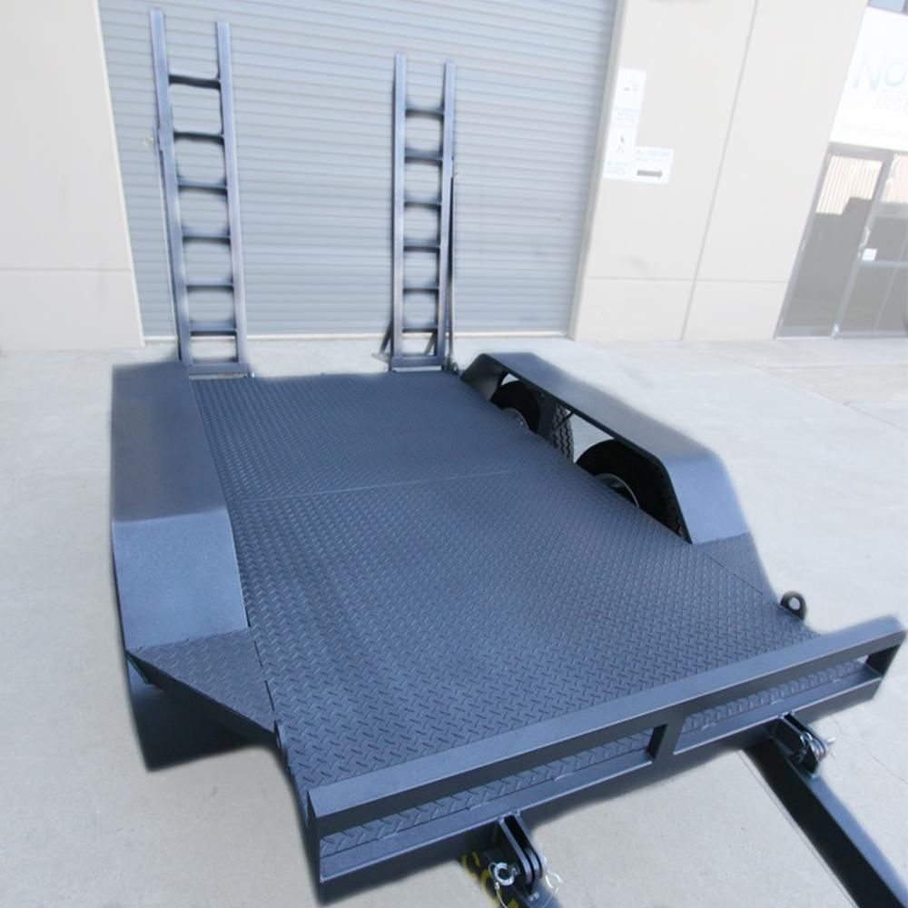 Alltrades All-Tow 2500C 2.5-Tonne Plant Trailer - 2.1t Capacity, Galvanised