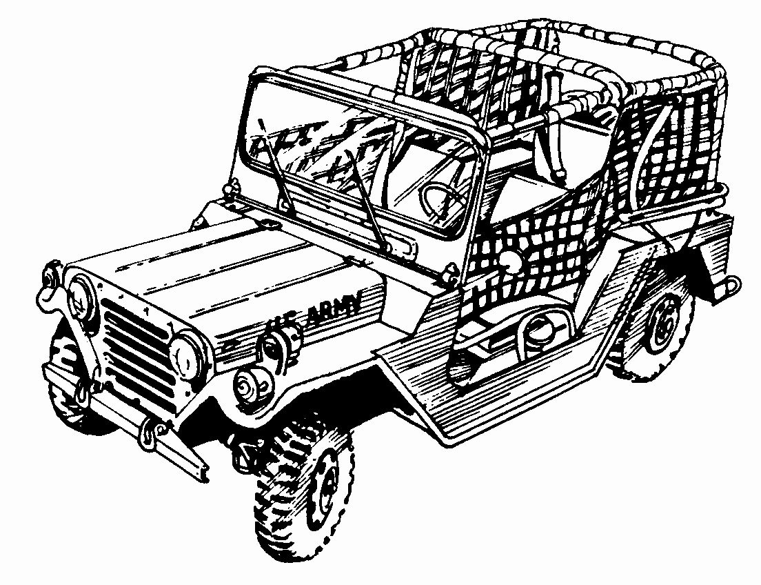 Military Jeep Coloring Pages In 2020 Military Soldiers Military Jeep Military