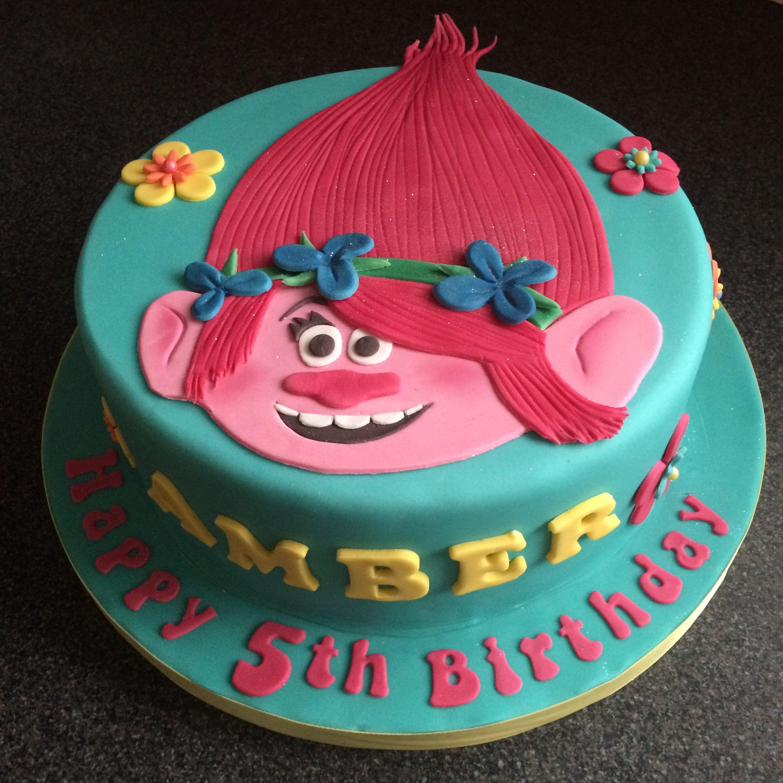 Cake Design Trolls : Trolls cake Poppy Sweet shoppe Pinterest Cake, Troll ...