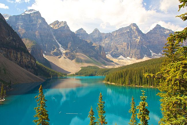 Moraine Lake (Moränensee), Banff-Nationalpark