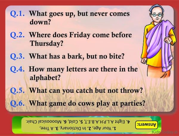 Riddles with Answers | Funny riddles, Funny riddles with ...