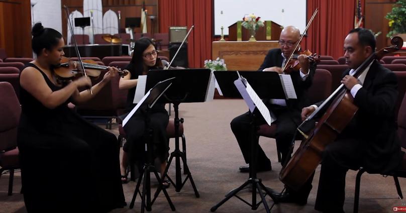 WedBrilliant wedding musicians Ocdamia Strings! Los