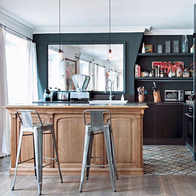 Kitchen Impossible Idee: Un Appartement Alliant Un Design Classique à Un Design