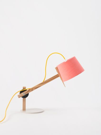 ... make your own Douglas and Bec lamp in Melon, yellow and fog