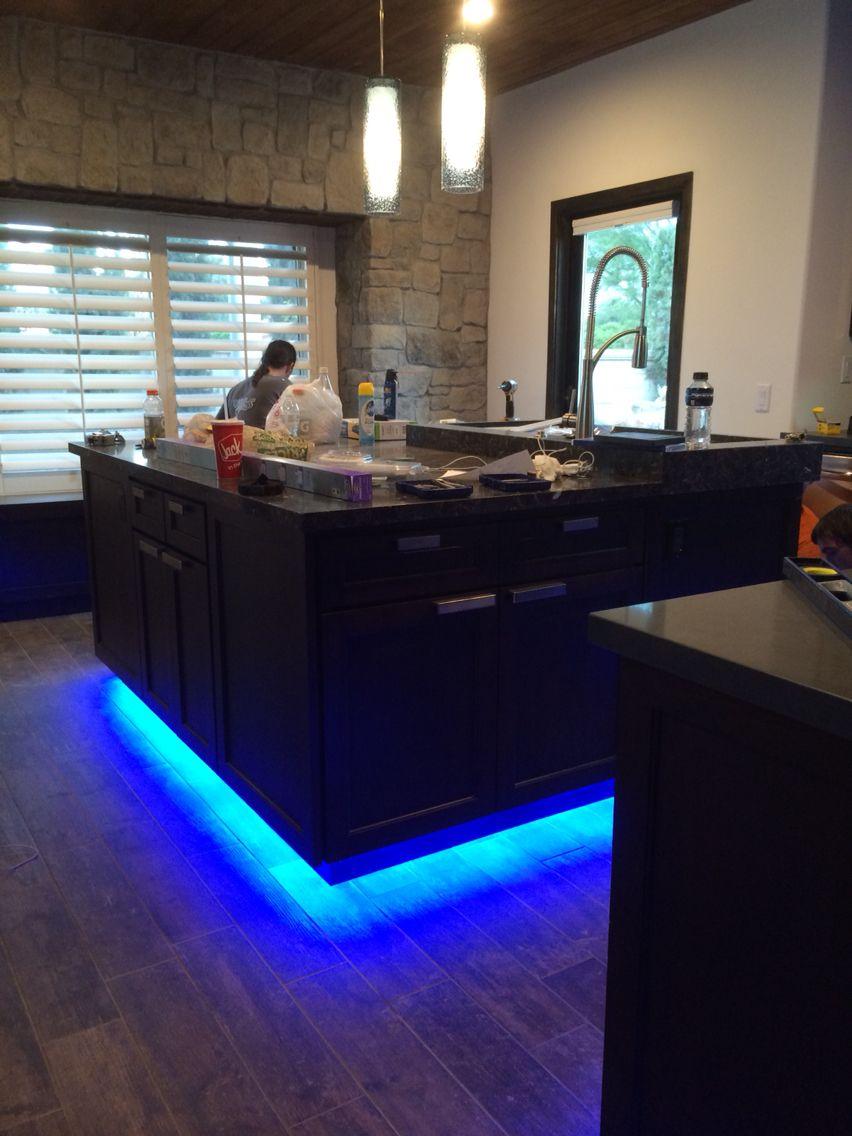 Grayco Electric Inc Blue Led Toe Kick Lighting Home