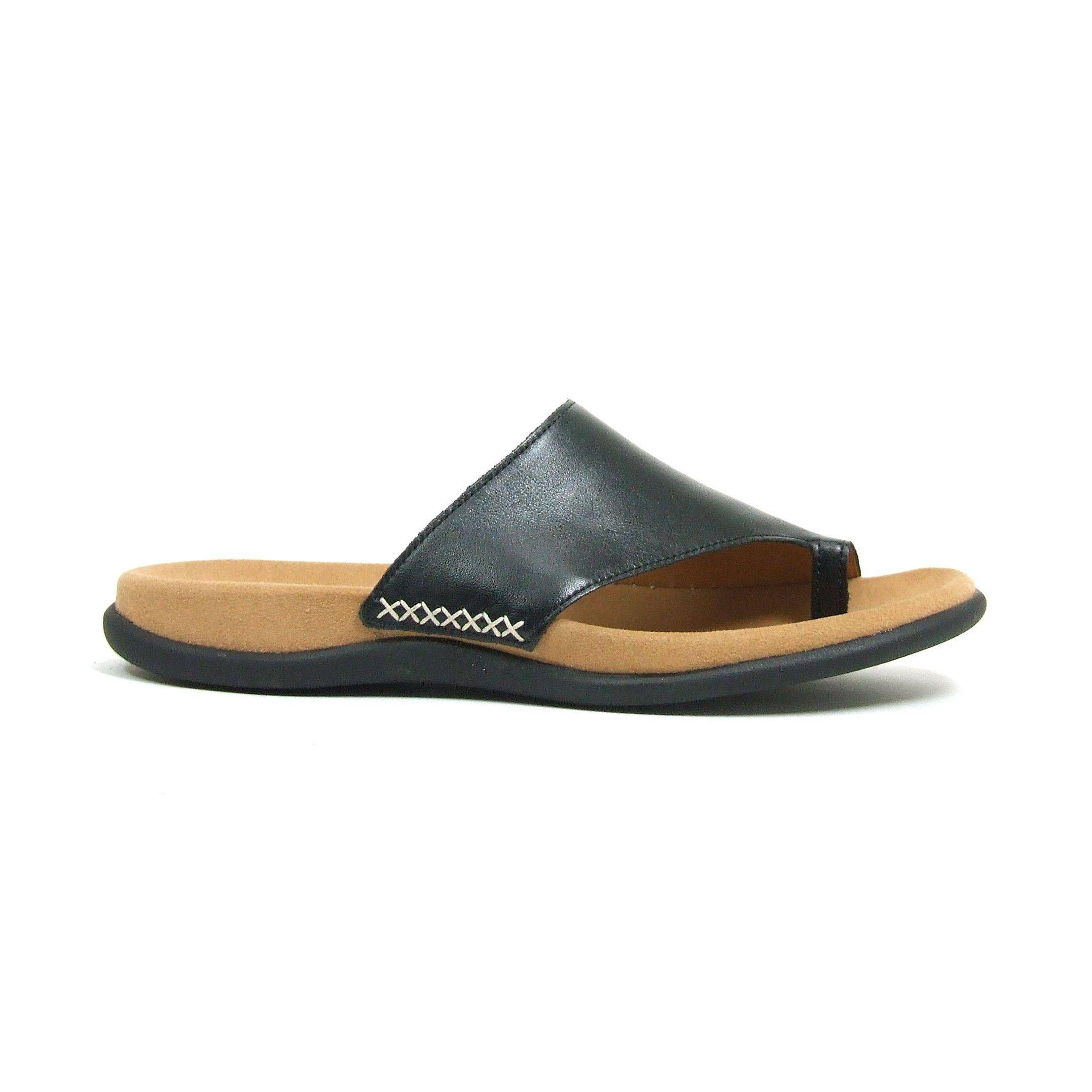 Beste Comfortabele zwarte sandalen van Gabor,model 03.700! Deze sandalen WZ-76