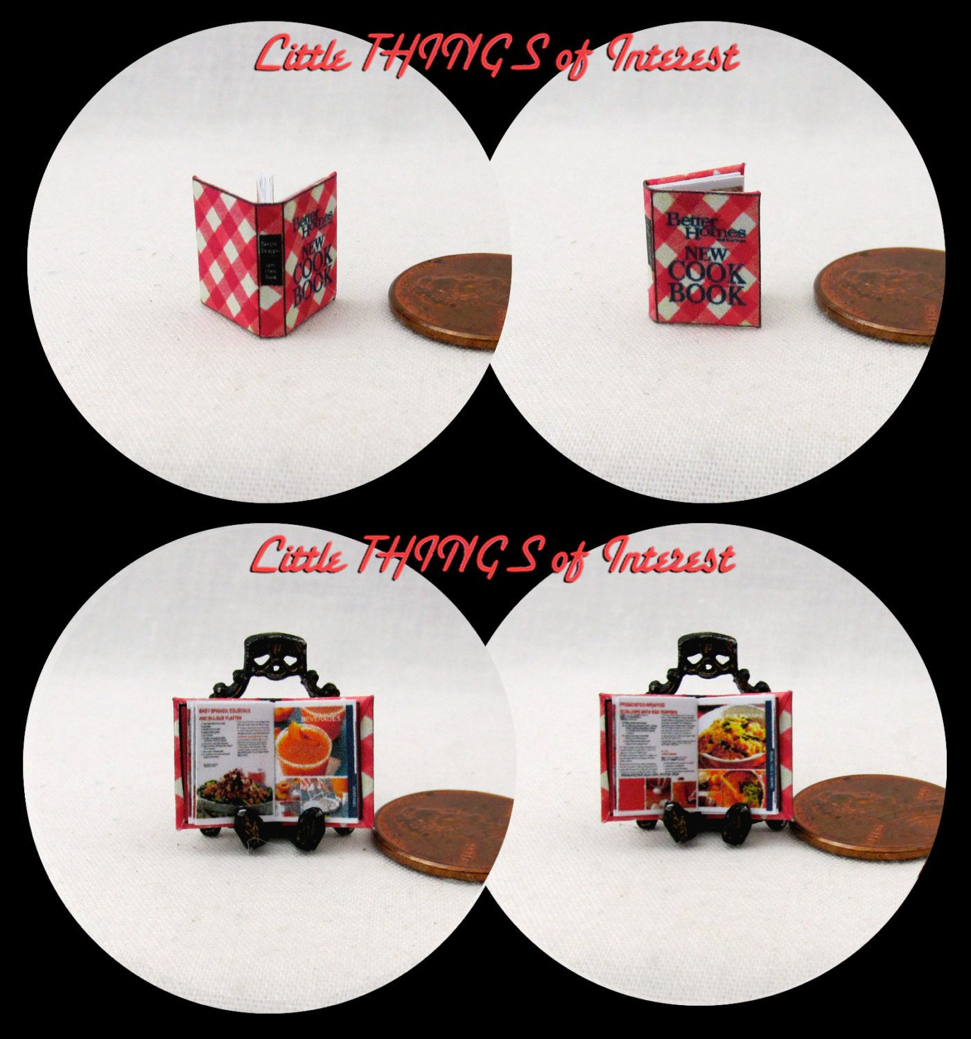 """1:24 Scale SATURDAY EVENING POST Magazine Dollhouse Miniatures Book 1//2/"""" Scale"""