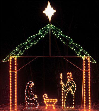... scenes general 1018gmg 390437 pixels christmas lighting contestclark 1018gmg 390437 pixels workwithnaturefo Outdoor lighted nativity sets ... & Fancy Nativity Scene Outdoor Lighted