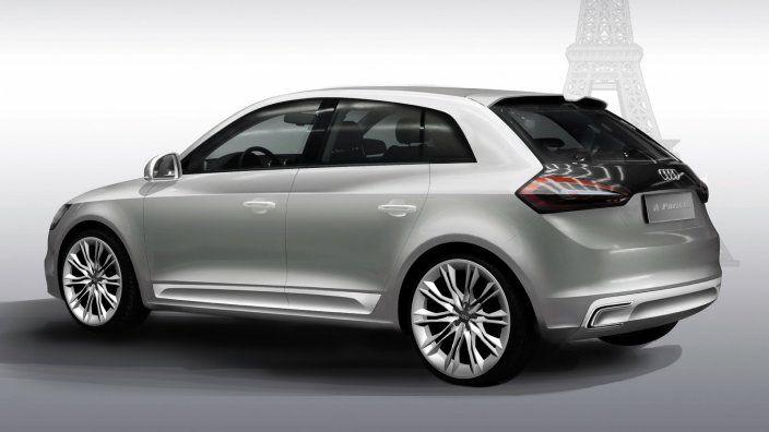 A1 Sportback Concept Car From Audi Audi A1 Sportback Audi A1