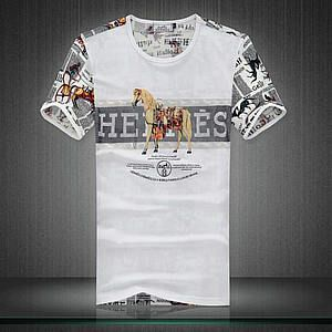 Homme Hermes Tee Shirts H0049   Pas Cher Hermes Tee Shirt   Tee ... 508cafee117