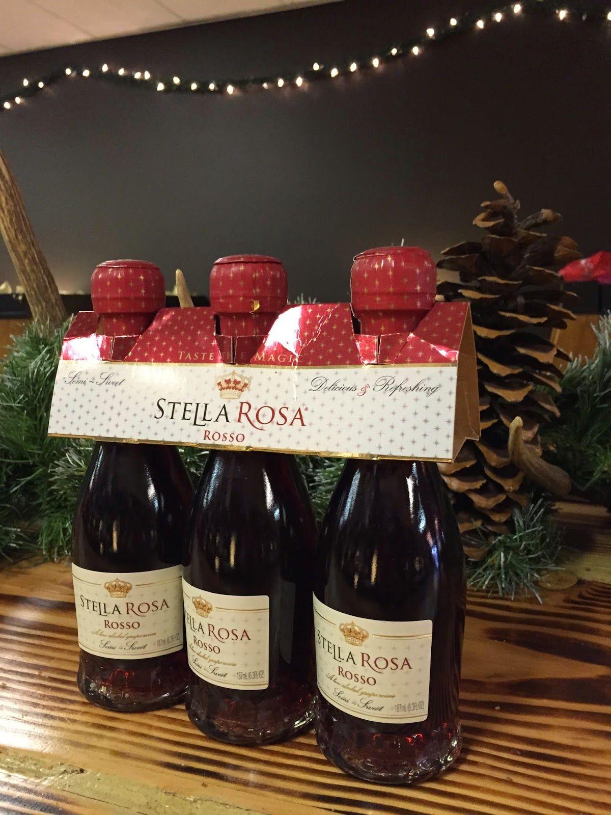 Primrose Tumbleweeds Holiday Stocking Stuffer Stella Rosa Wine Bottle