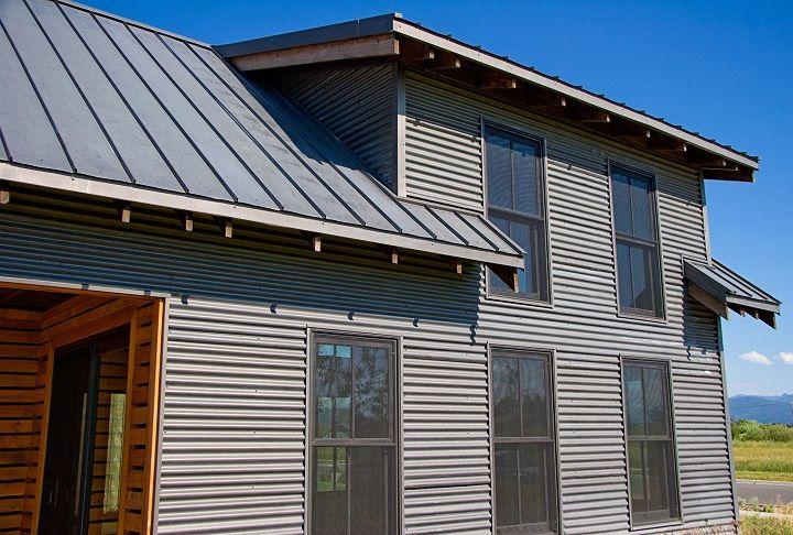 Corrugated Metal House House Plans Pinterest