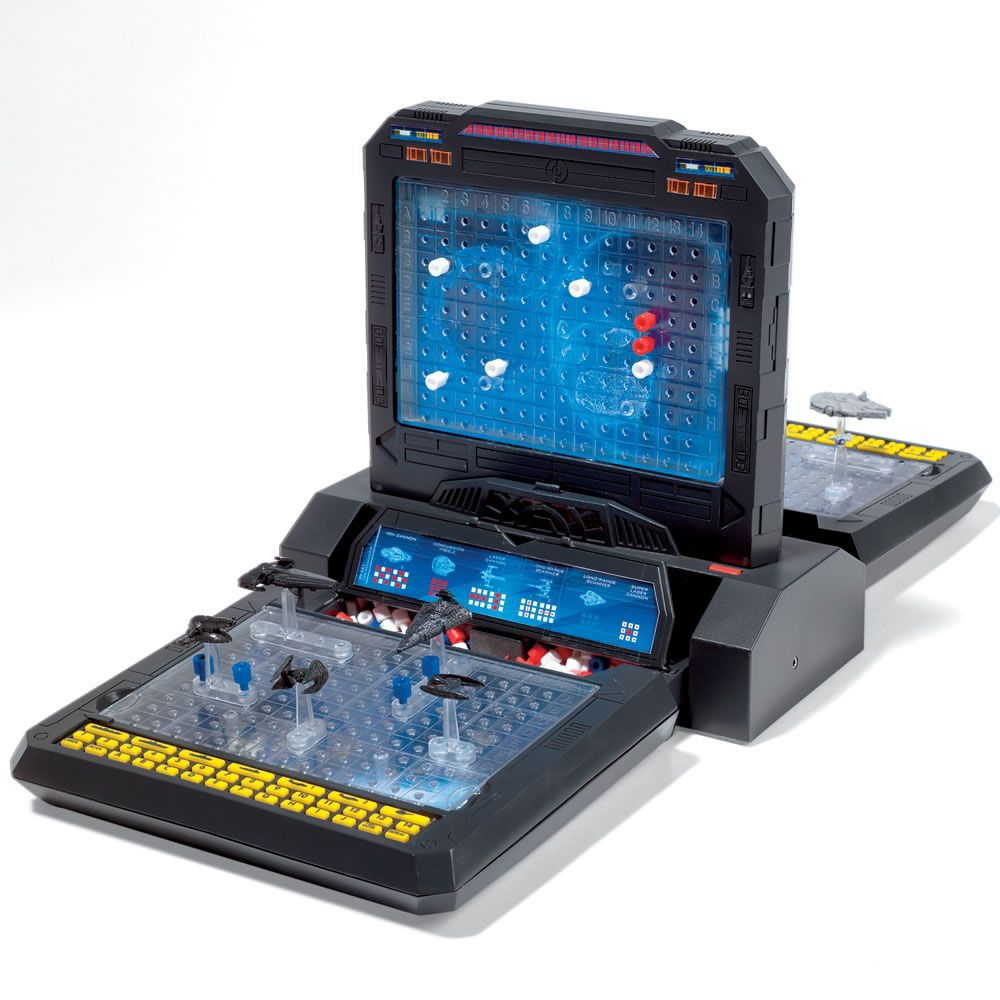 Hasbro Gaming Star Wars Battleship Game Board - Walmart ...