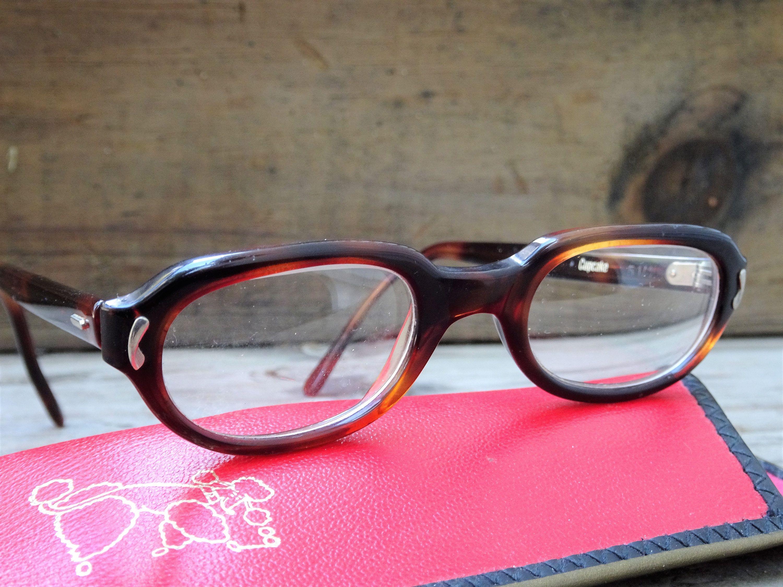 2582cb4f39d Vintage Kids USA Marine Cupcake Childs Tortoise Eyeglass Frames