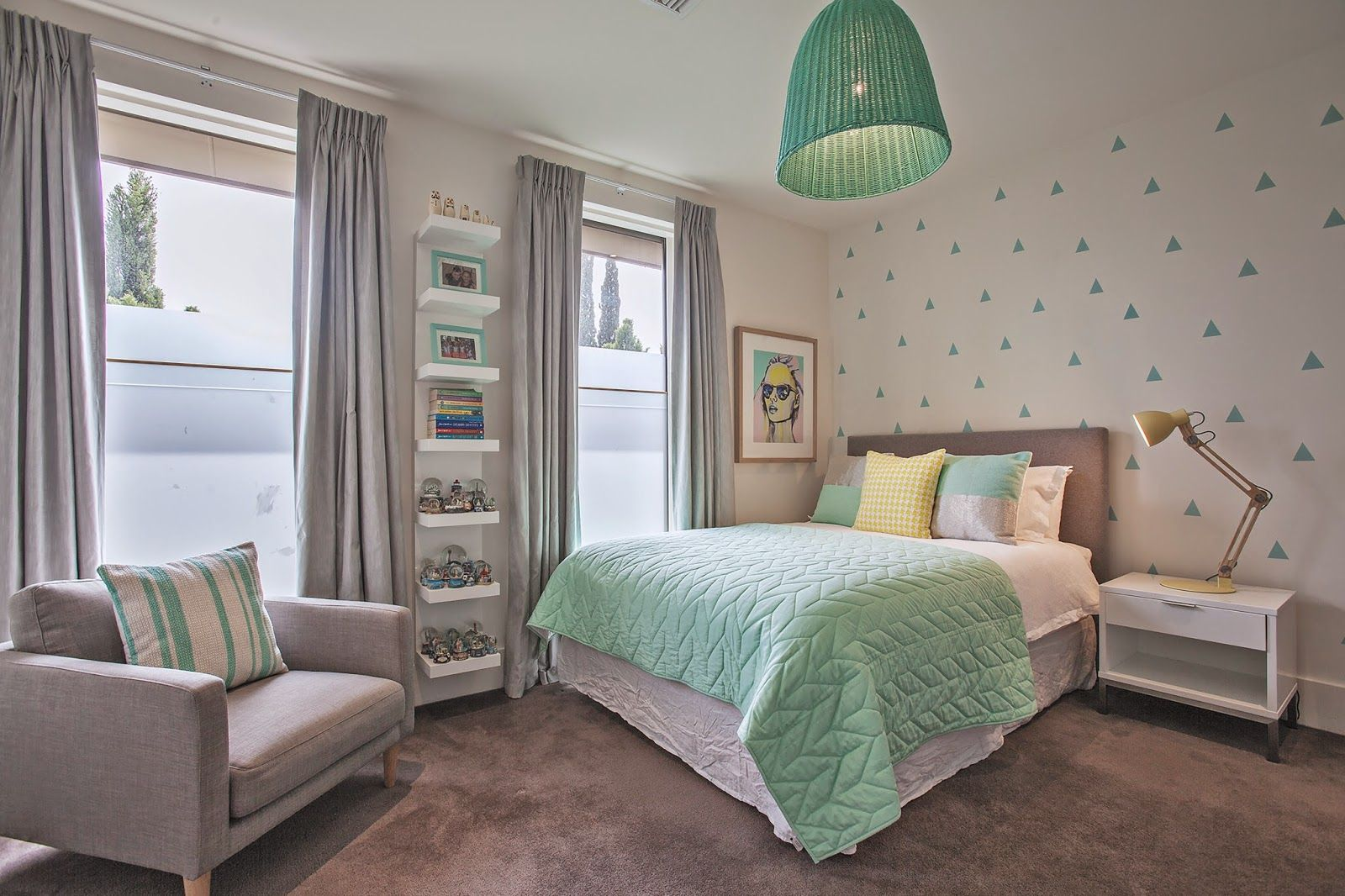 marvelous 10 year old bedroom ideas | Fresh Mint - Loved completing this beautifully minty tween ...