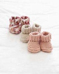 Free Baby Bootie Crochet Pattern Crochet Pinterest Häkeln