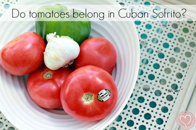 Cuban sofrito recipe
