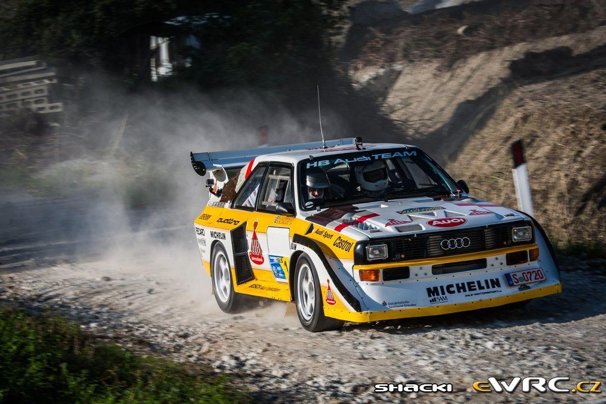 Stig Blomqvist Robert Jakobsson Audi Quattro A2 Rallylegend 2014