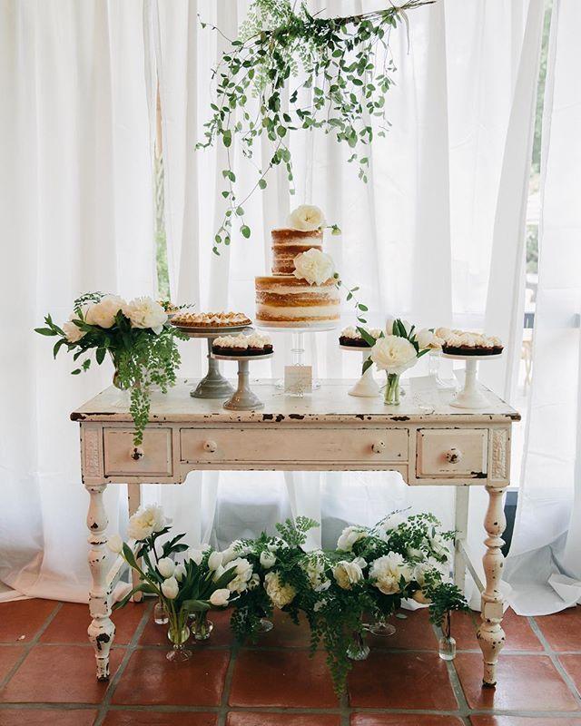 Dessert Table Wedding Cake Display Table Vintage Wedding Cake Table Sweets Table Wedding