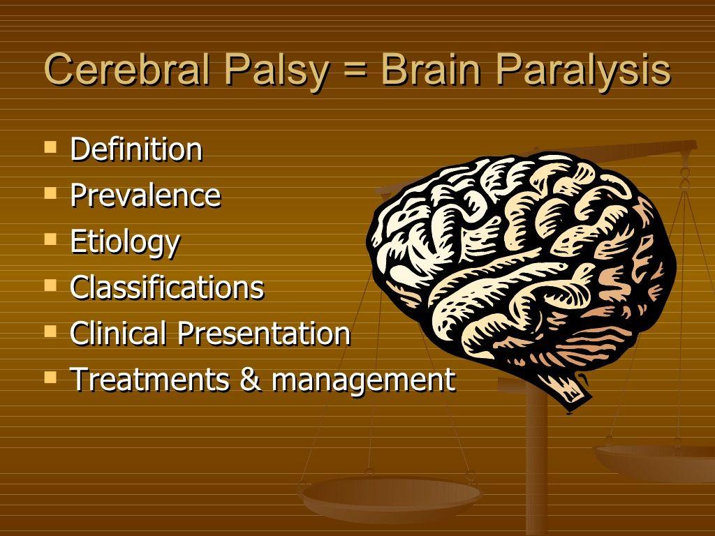 Cerebral Palsy By Padma By Psingh 94 Via Slideshare
