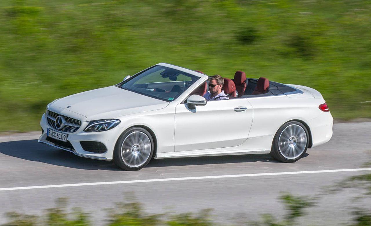 2017 Mercedes Benz C Class Cabriolet Benz C Benz Mercedes Benz