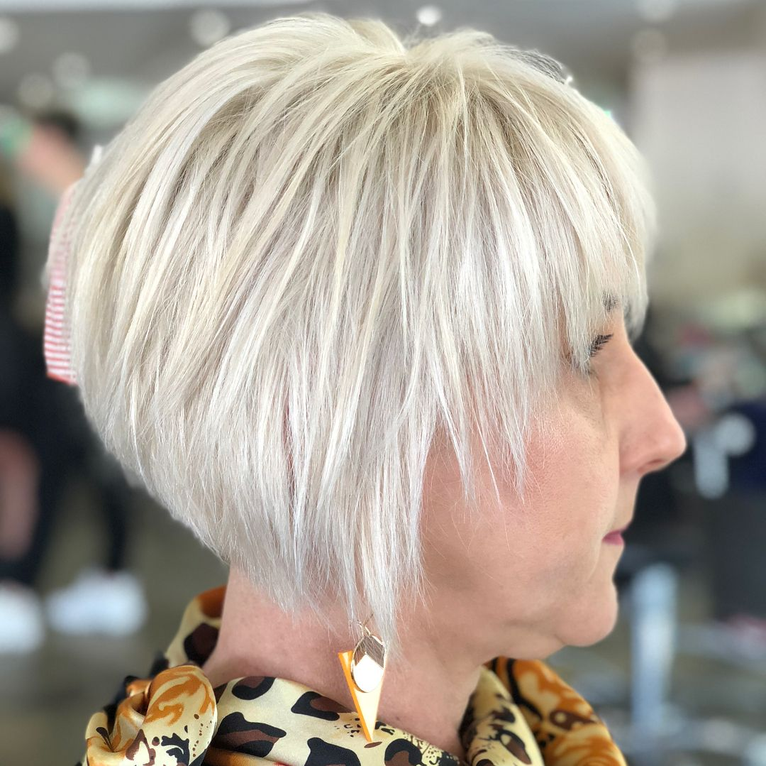 39+ Bob hairstyles for over 60 info