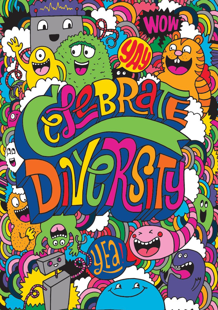 Celebrate #Diversity! | Words of Wisdom for the kids | Pinterest ...