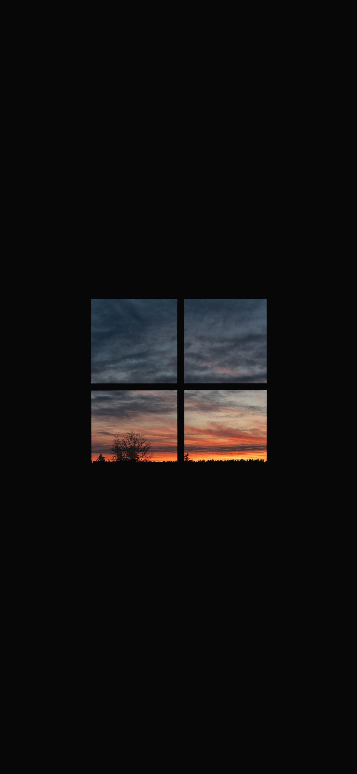 Sunset Window [OC]