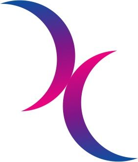I used to have a mood necklace with this exact symbol on it. I found out today that it's the bi pride symbol, which is why I want that same necklace even more now.