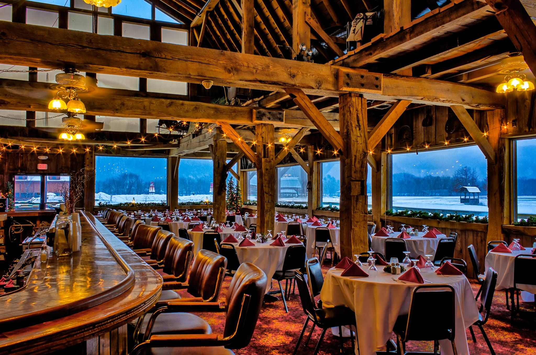 The Barn Restaurant Best Rustic Steakhouse In Wisconsin The Barn Restaurant Wisconsin Restaurants Wisconsin Attractions