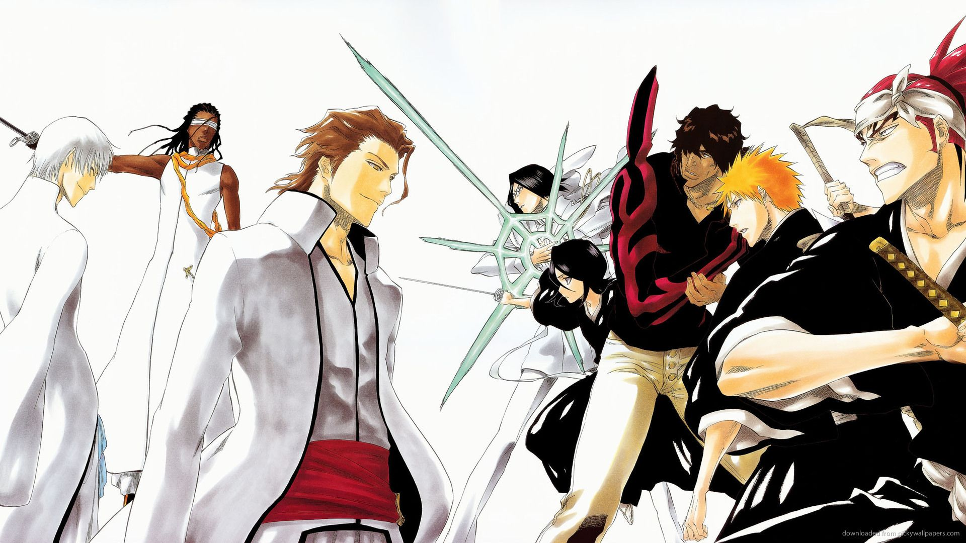 Bleach Renji, Ikaku, Ichigo, Chad &- Uryu | Anime Fan | Pinterest ...