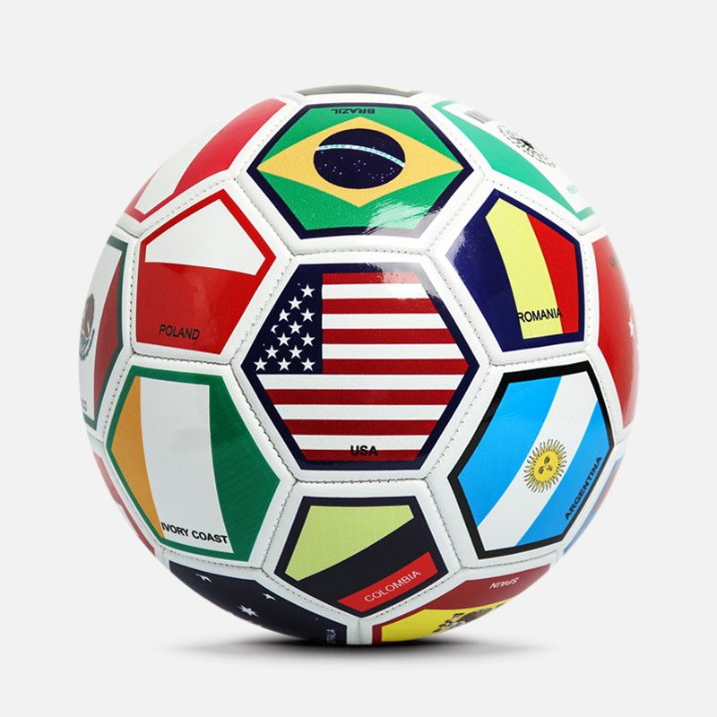Wholesale Size 3 4 5 Flag Soccer Ball In Bulk Soccer Ball Soccer Ball