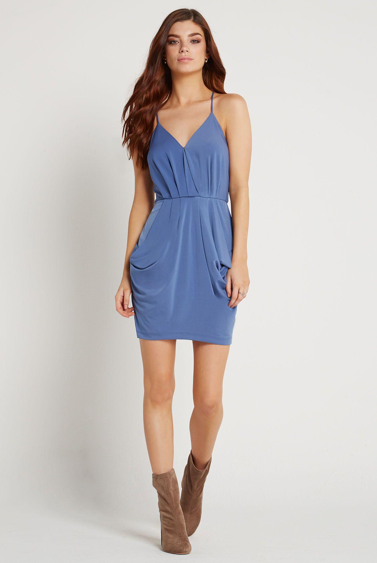 Faux Wrap Dress bcbgeneration