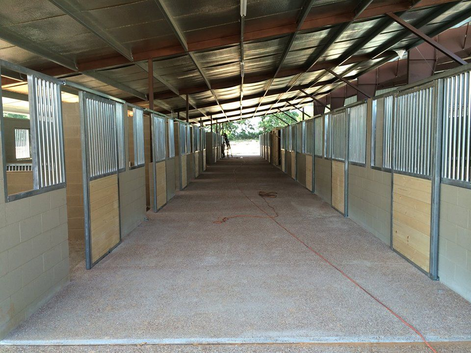 Cinder Block Barn Horse Barn Ideas Stables Wellington Barn Barn Plans