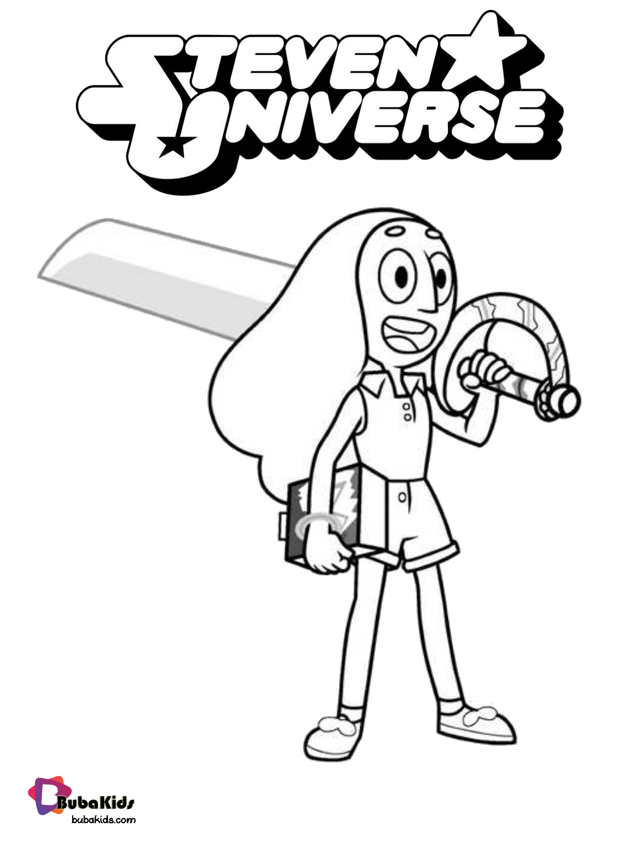 Connie Maheswara Steven Universe Coloring Page Collection Of Cartoon Coloring Pages For Teenage In 2020 Coloring Pages Cartoon Coloring Pages Printable Coloring Book