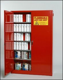 Used Aerosol Paint Can Storage Cabinet & Used Aerosol Paint Can Storage Cabinet | Flammable Cabinets | Pinterest